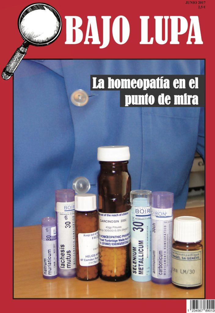 """Portada de """"La homeopatía en el punto de mira"""""""