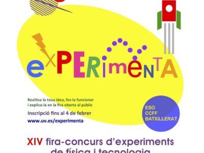 Cartel Fira-Concurs Experimenta